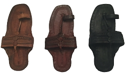 WATER BUFFALO LEATHER SANDALS  - AVAILABLE IN THREE COLORS
