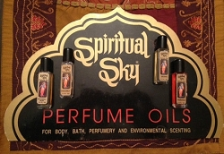 SPIRITUAL SKY ESSENTIAL PERFUME OIL - ASSORTED SCENTS