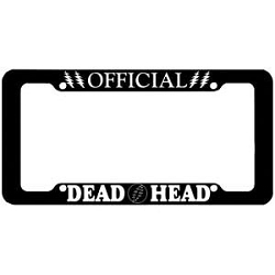 OFFICIAL DEADHEAD LICENSE PLATE COVER