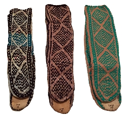 MUKLUK SLIPPER SOCKS - UNISEX - SIZE LARGE
