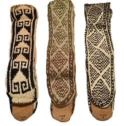 MUKLUK SLIPPER SOCKS - UNISEX - SIZE X-LARGE