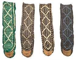 MUKLUK SLIPPER SOCKS - UNISEX - SIZE X-SMALL
