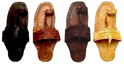 WATER BUFFALO LEATHER SANDALS  - AVAILABLE IN FOUR COLORS