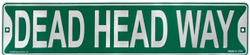 Grateful Dead - DEAD HEAD WAY TIN SIGN